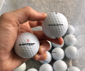 Dunlop Tour Soft Grade A x40 golf balls