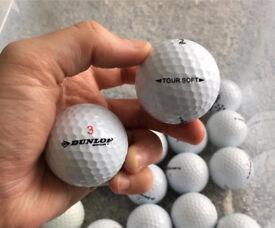Dunlop Tour Soft Grade A x40 golf balls