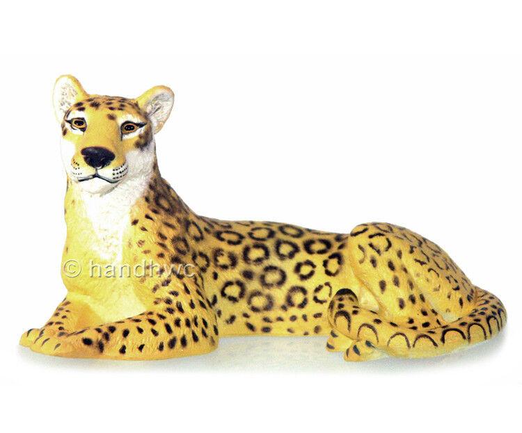 AAA 53017 Female Leopard Lying Model Animal Toy Figurine Replica - NIP