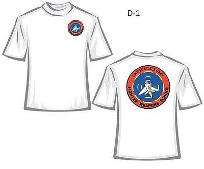 Fighter Weapons School T-Shirt, Top Gun, Customize, D-1