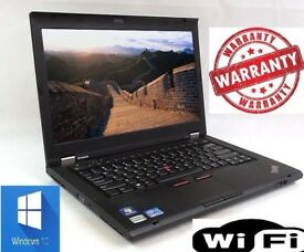 XMAS POWERFUL Lenovo Thinkpad T410 Windows 10 Laptop i7 1st Gen 2.4Ghz 8Gb 128Gb SSD