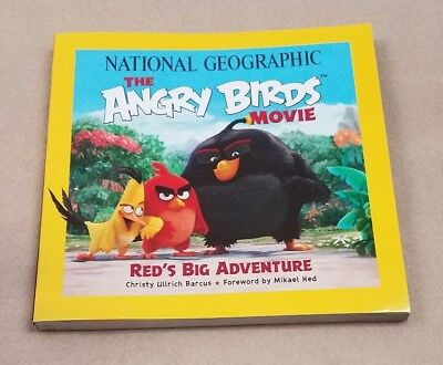 National Geographic The Angry Birds Movie Red's Big Adventure