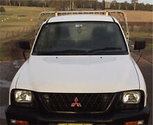 2004 Mitsubishi triton 2.4 EFI low milage Appin Wollondilly Area Preview