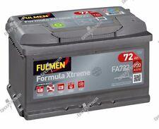 Batterie démarrage voiture Fulmen FA722 12v 72ah 720A 278x175x175