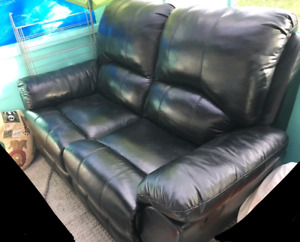 Leather Lazy Boy Recliner Lve couch