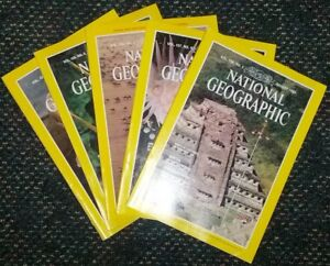 100  National Geographic magazines     only $20