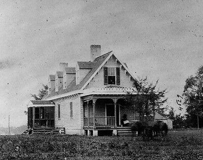 Battle White Oak Swamp Field Hospital Haxalls House New 8X10 Us Civil War Photo