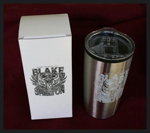 rare limited edition Blake Shelton Friends and Heroes 2019 travel mug
