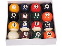 Ventura Economy Pro-Pool Ball Set 57.2mm