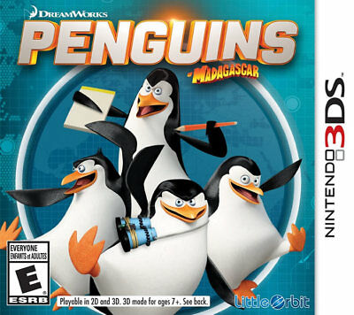 Penguins Of Madagascar 3ds Nintendo 3ds, Nintendo_3ds