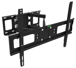 "SWIVEL TV Wall Mount with 2 arms TV LCD LED PLASMA 32"" to 65"""