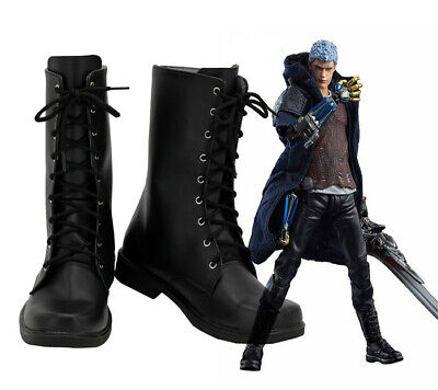 Devil May Cry 5 Nero Schuhe Stiefel Shoes Boots Cosplay Kostüme Costume Neu New