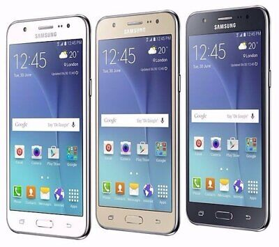"*NEW SEALED*  Samsung Galaxy J7 J7008 5.5"" (Unlocked) Smartphone/GOLD/16GB segunda mano  Embacar hacia Argentina"