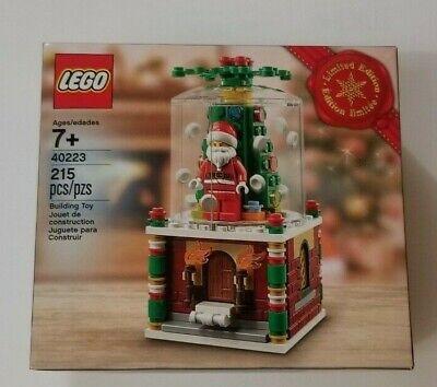 LEGO Christmas Limited Edition 2016 Santa Snowglobe 40223 Holiday