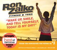 Ron Zalko Fitness & Yoga Vancouver 荣尊高