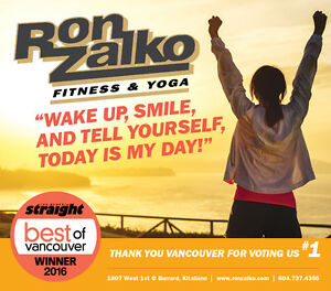 Ron Zalko Fitness, Yoga, & Personal Training Vancouver