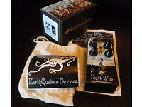 Earthquaker Devices Night Wire Harmonic Tremolo Effects Pedal.