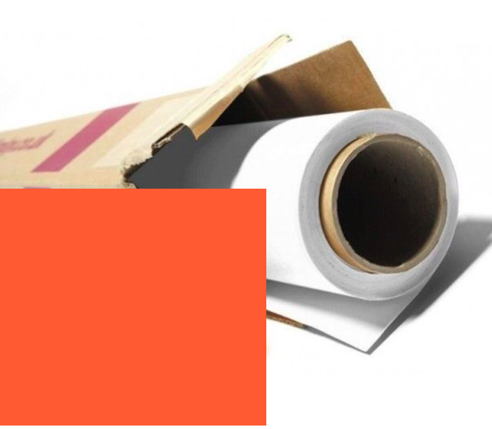 Colorama PUMPKIN Orange Photography Background Paper Roll 2.72m Wide x 11m long