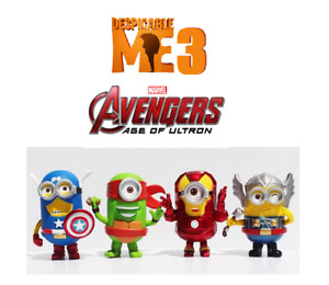 Despicable Me 3 Avengers - Age of Ultron Toys - New