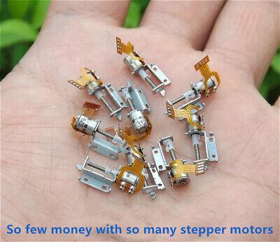 1020 Pcs Micro Screw Stepper Motors Miniature 2-phase 4-wire Step Motor