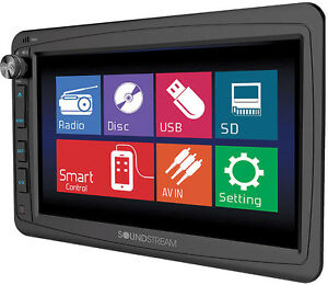 """Soundstream DVD Player w/ 7"""" LCD Touchscreen Display"""