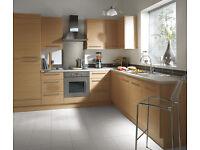6 Piece Kitchen Units - Natural Oak - BRAND NEW