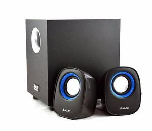 Music-F Digital Multimedia Speaker  USB 2.0 Digital Audio Subwoofer  for Desktop Computers  Laptops