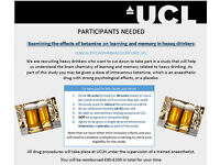 Heavy drinkers needed for paid research