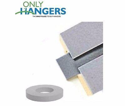 Only Hangers Gray Vinyl Insert For Slatwall