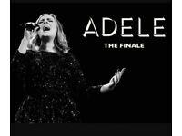 X2 Adele Merchandise Tickets 29th June 2017