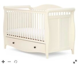 Mothercare Bloomsbury Cotbed in ivory for sale - new in box