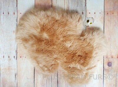 Stokke Honey Sheepskin Fur Pram Liner. NEW