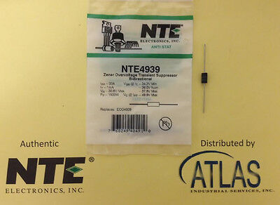 NTE NTE4939 Zener Overvoltage Transient Suppressor Bidirectional - Over Voltage Transient Suppressor