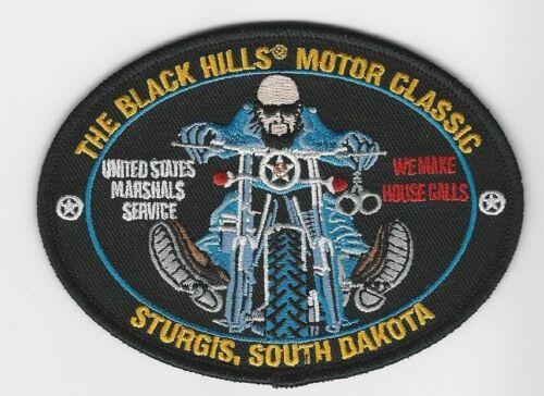USMS US Marshal Sturgis South Dakota SD Police Sheriff State SD Motorcycle