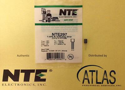 Nte Nte297 T-npn Si Audio Amp Driver
