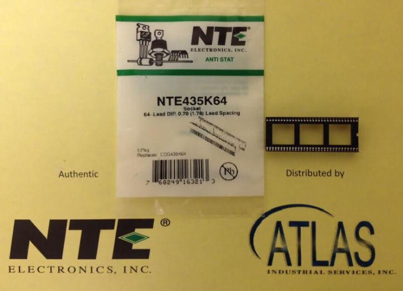 NTE NTE435K64 IC Socket, 64 Pin, Tin
