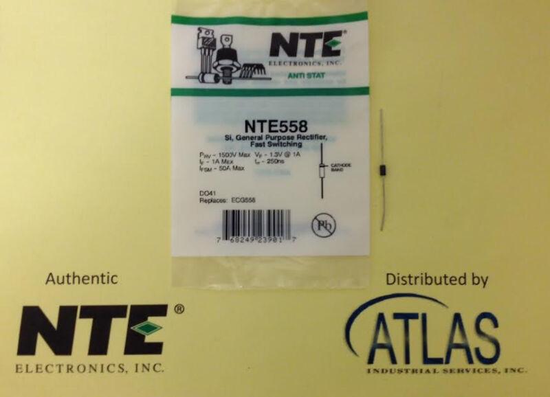 NTE NTE558, Si, General Purpose Rectifier, Fast Switching