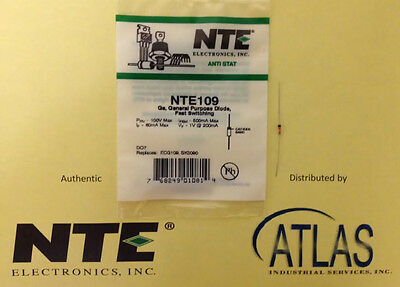 NTE NTE109 Ge, General Purpose Diode, Fast Switching General Purpose Diode