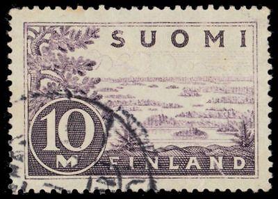 "FINLAND 178 (Mi156i) - Lake Saima ""1930 Plate I Printing"" (pa7294)"