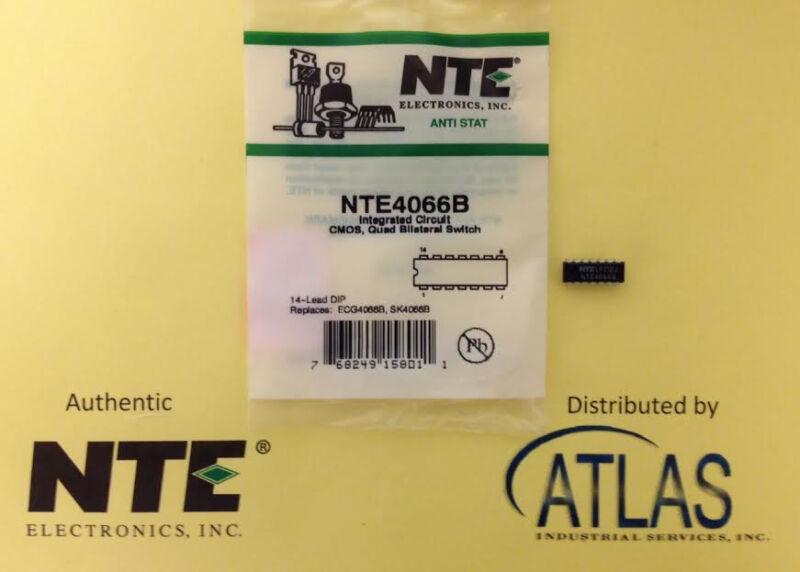 NTE NTE4066B IC Quad Bilateral Switch