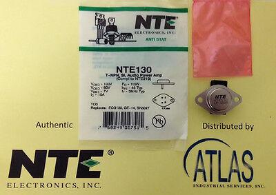 Nte Nte130 T-npn Si Audio Power Amp