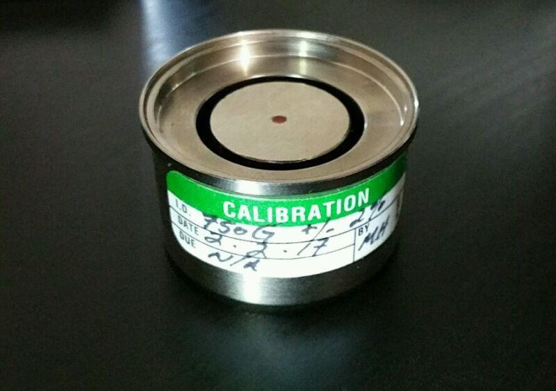 Reference Magnet For Gaussmeter Tesla Meter Magnetometer 750 Gauss +/- 2%