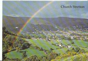 Shropshire-Postcard-Church-Stretton-Showing-Rainbow-AB233
