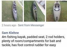 Fishing kayak Secret Harbour Rockingham Area Preview