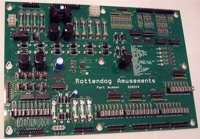 Brand New SDB004 Driver Board for Stern Whitestar pinball machines