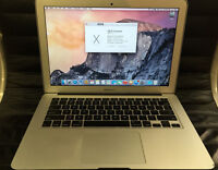 "Macbook Air 13""; 1.3Ghz Intel i5 + 4GB & 256GB [ 2014 ]"