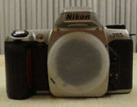 Nikon F65 SLR film camera with 28-100mm AF lens