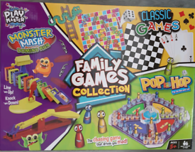 Family Games Collection Brand New
