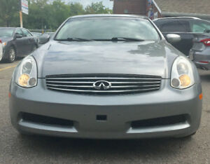 2006 Infiniti G35 Sport Coupe (2 door),certified, mint conditio
