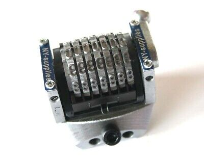 New 316 Rotary Convex Backwards Numbering Machine For Morgana - 7 Digit